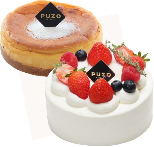 PUZOのチーズケーキ